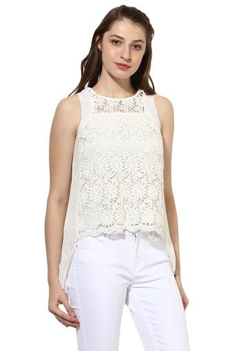 SOIE -  Off WhiteTops & Tees - Main