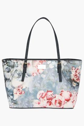 SATYA PAUL Womens Zipper Closure Tote Handbag - 203029081