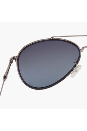 Unisex Full Rim Polarized Lens Aviator Sunglasses -AZ60021C035