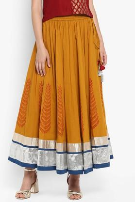 VARANGA Womens Printed Long Skirt - 204886230_9418