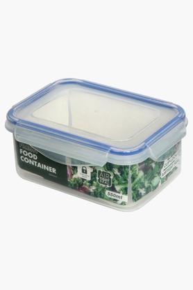 IVY Rectangular Plastic Food Container   550 ml