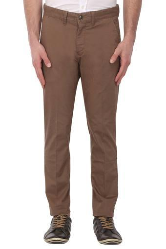 LOUIS PHILIPPE SPORTS -  YellowCargos & Trousers - Main