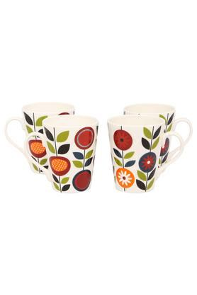 IVY Printed Coffee Mug Set - Pack Of 4 - 203517717_9803