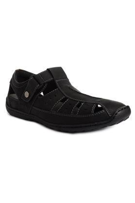 BUCKAROOMens Leather Velcro Closure Sandals - 203888488_9212