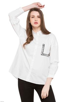 X RS BY ROCKY STAR Womens Solid Casual Shirt 8b0ba0dac