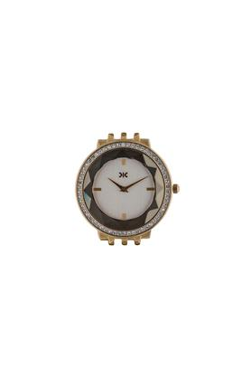 Womens White Dial Stainless Steel Brigitte Analogue Watch - KLWI530A