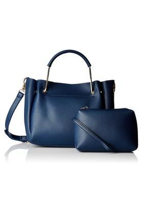 PEPERONEWomens Zipper Closure Satchel Handbag - 204024373_9308