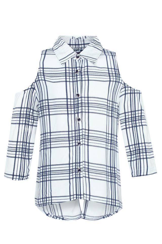 Girls Checked Shirt