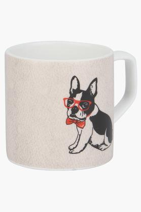 IVYRound Puja Pup With Bow Printed Mug
