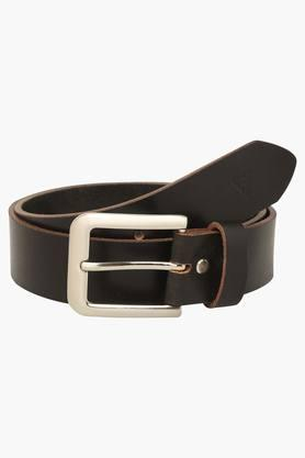 VETTORIO FRATINI Mens Leather Buckle Closure Casual Belt - 203362220