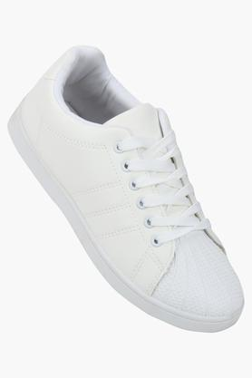 TRUFFLE COLLECTION Womens Casual Wear Lace Up Sneakers