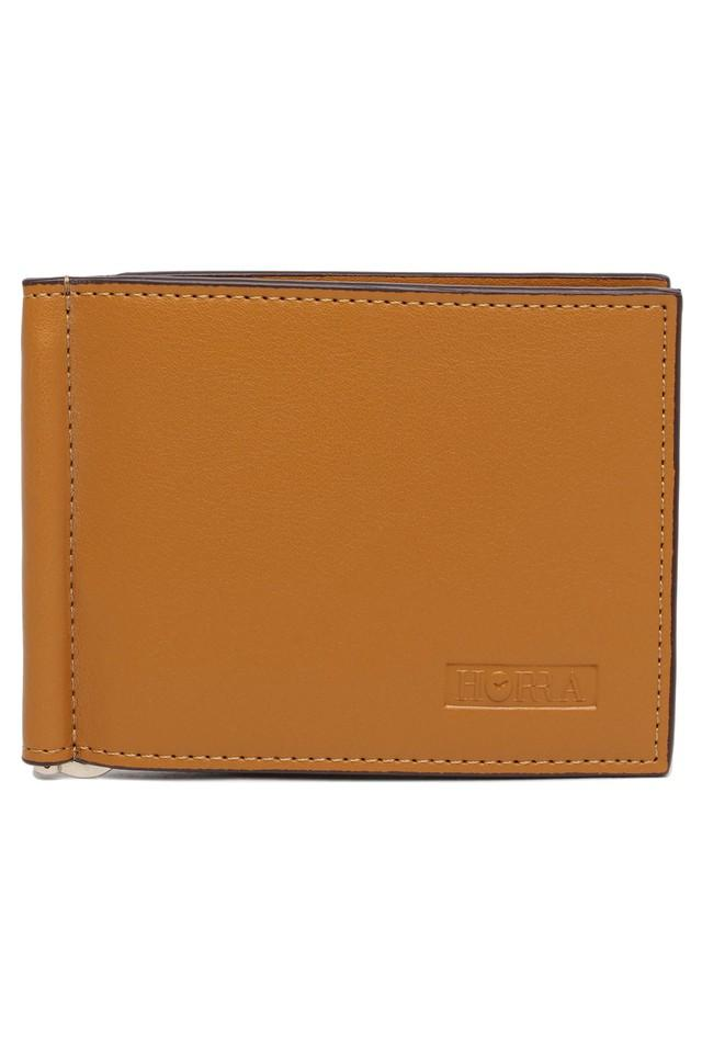 Mens PU Leather 1 Fold Wallet