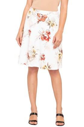 ZINK LONDON Womens Printed Short Skirt
