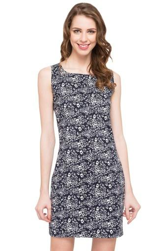 FRATINI WOMAN -  Navy Dresses - Main