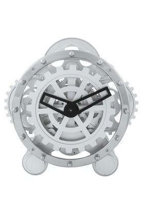 SPREADRound Solid Analogue Gear Table Clock
