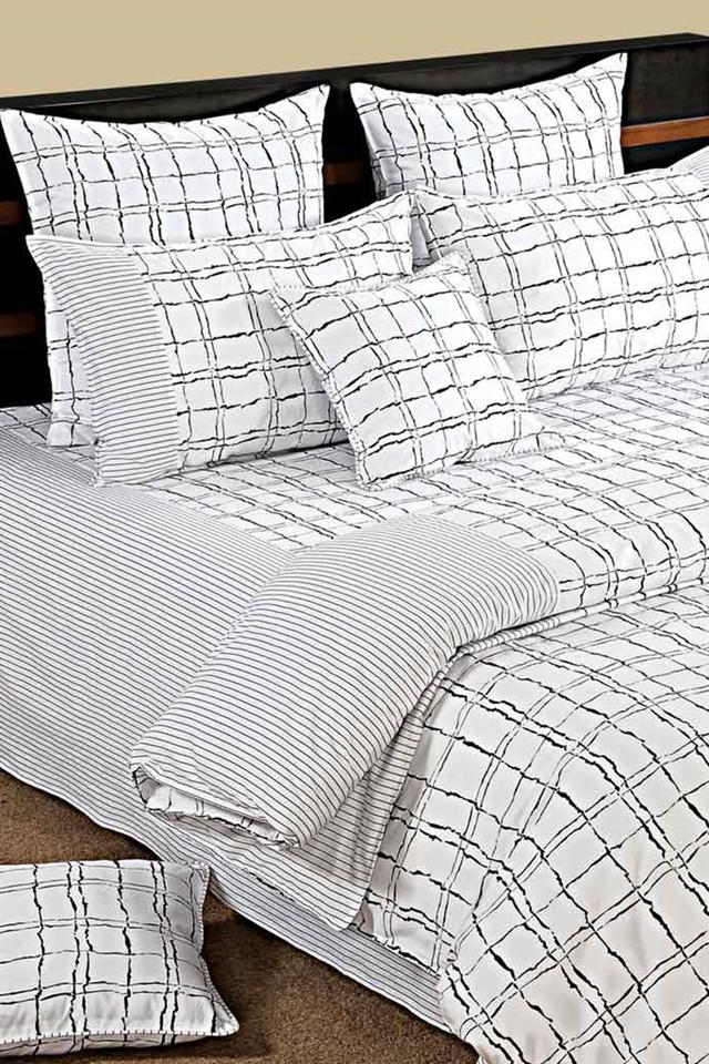 Check Single Bed Sheet with 1 Pillow Cover