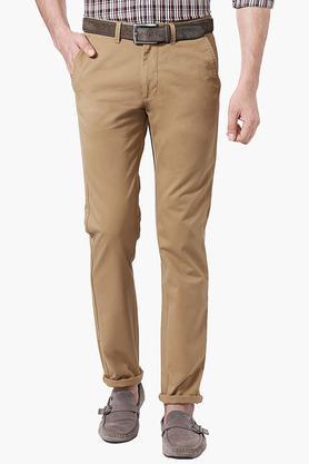 PETER ENGLANDMens Extra Slim Fit 4 Pocket Solid Chinos - 202966172