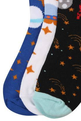 Boys Printed Socks - Set of 3