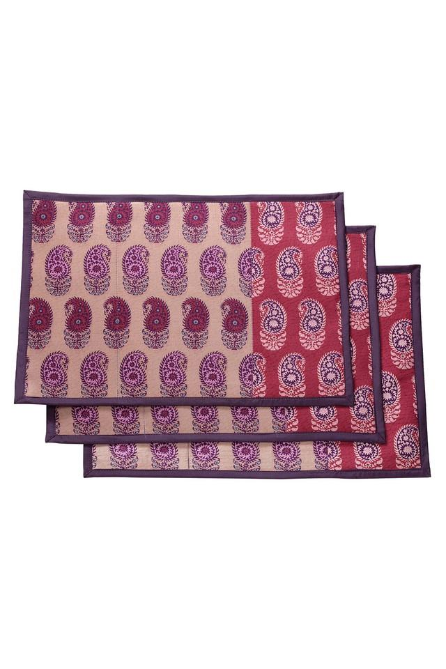 Printed Place Mats Set of 6