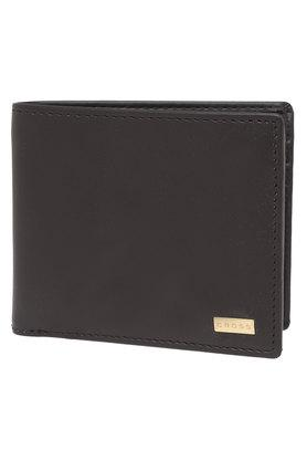 CROSSMens Leather 1 Fold Wallet - 203269707
