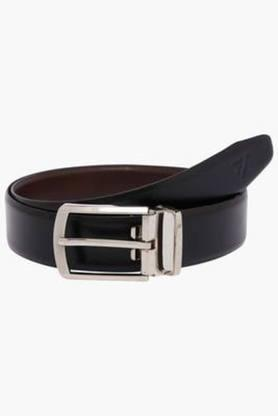 VETTORIO FRATINI Mens Leather Buckle Closure Formal Belt - 202994965