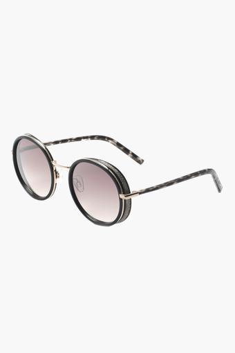 Womens Round Polycarbonate Sunglasses - 2196 C2 S