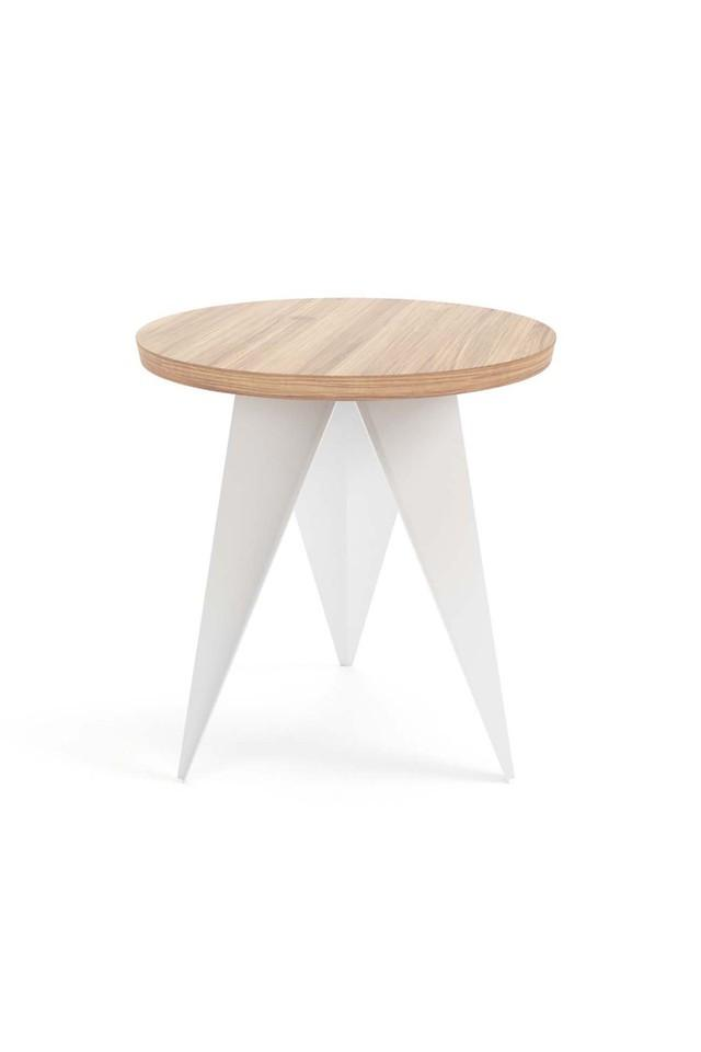White And Brown Misaka Coffee table