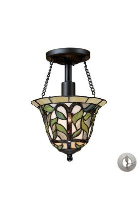 IVY Printed Metallic Hanging Lamp