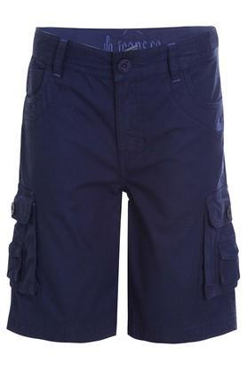 Boys 7 Pocket Solid Shorts
