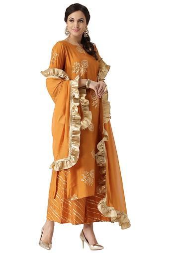 LIBAS -  YellowSalwar & Churidar Suits - Main
