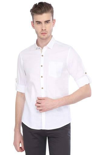 TRUE BLUE -  WhiteCasual Shirts - Main