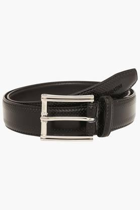 VETTORIO FRATINI Mens Leather Buckle Closure Casual Belt - 203362218