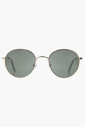 unisex Full Rim Round Sunglasses - G16259GD
