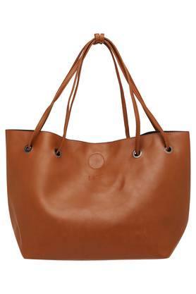 LIFEWomens Button Closure Satchel Handbag - 2 In 1