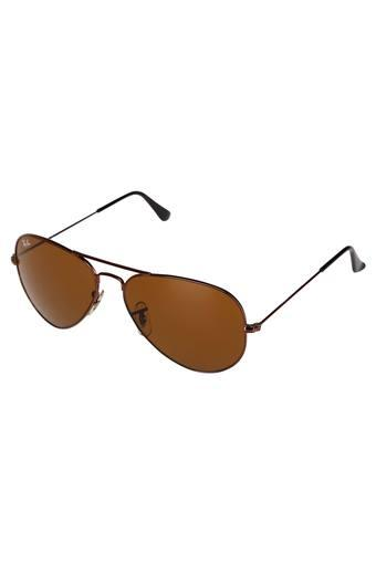 Mens Full Rim Aviator Sunglasses - 2059 C2 S