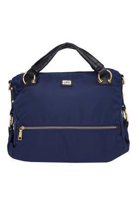 LIFEWomens Zipper Closure Satchel Handbag - 204704086_9308