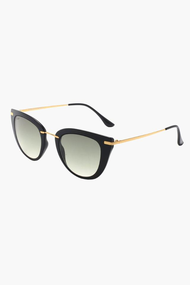Womens Round Polycarbonate Sunglasses - 2903N PC C1 S