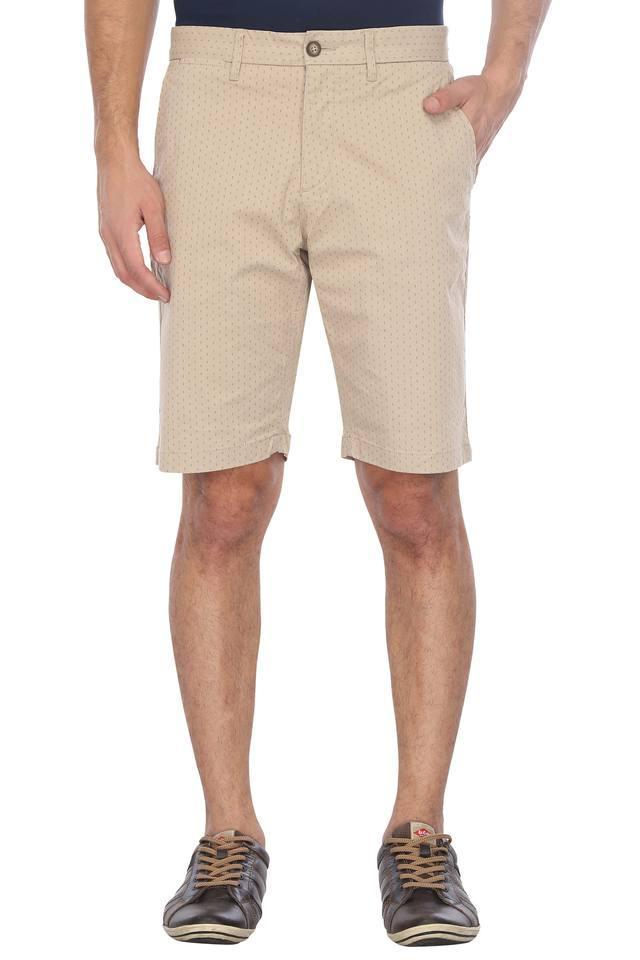 Mens 5 Pocket Printed Shorts