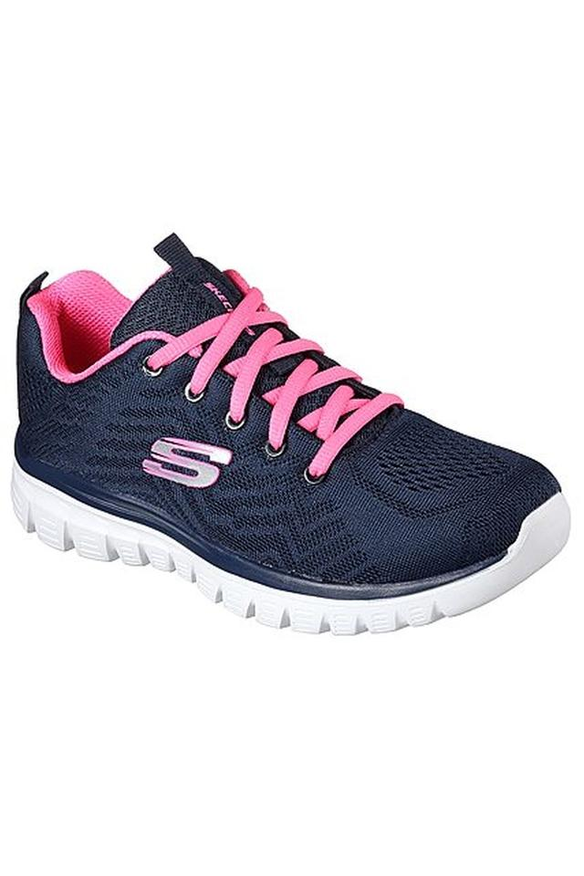 Womens Canvas Lace up Sports Shoes
