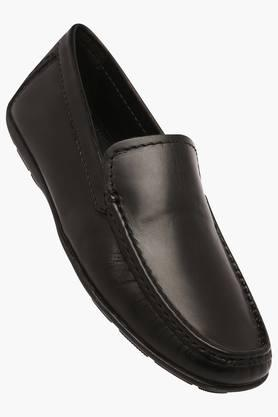 VENTURINI Mens Leather Slipon Loafers - 203017969