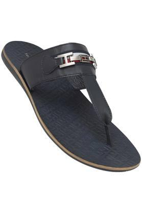 TOMMY HILFIGER Mens Leather Casual Wear Slippers