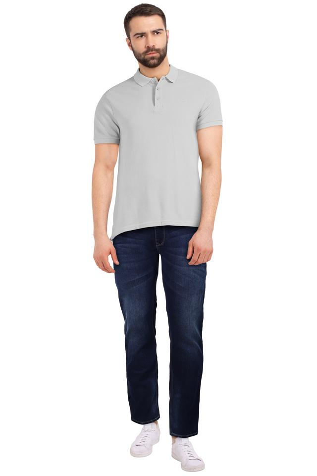 Mens Rover Fit Whiskered Effect Jeans (Rover Fit)