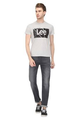 Mens Graphic Print Round Neck T-Shirt