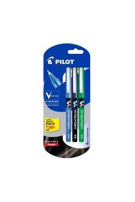 LUXORV5 Liquid Ink Rollerball Pen - Set Of 3