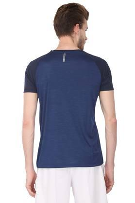 Mens Round Neck Slub T-Shirt