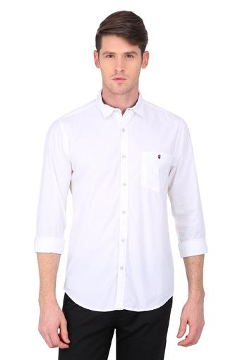 LOUIS PHILIPPE JEANS -  Off White Shirts - Main