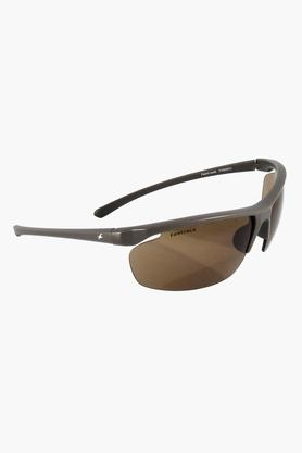 FASTRACK Mens Oval Non Gradient Sunglasses - P388BR3
