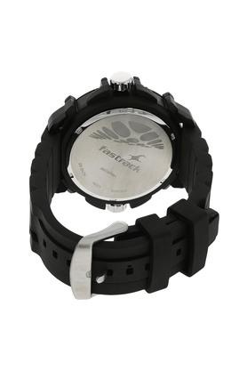 Mens Chronograph Plastic Watch - NK38016PP01