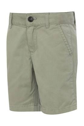 Girls 4 Pocket Solid Shorts