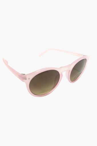 Unisex Round Gradient Sunglasses - P383PR11
